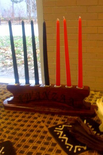 Kwanzaa table